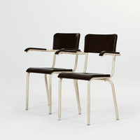 The Warehouse — Pair Of Chairs By René Herbst — THE LINE