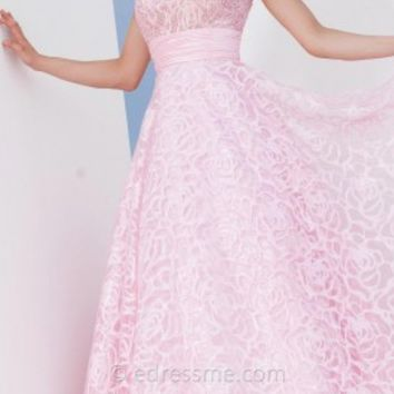 Burnout Organza Prom Gown by Tony Bowls Le Gala