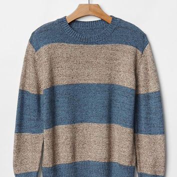Gap Boys Marl Stripe Sweater