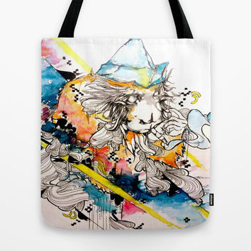 Somewhere Over The Smoke Tote Bag by Princess M