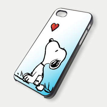 Snoopy Love iPhone Case And Samsung Galaxy Case