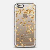 Limited Edition gold for iPhone 6 Crystal Clear Case iPhone 6 case by Monika Strigel   Casetify