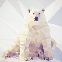 Lazy Bear Stretched Canvas by Beth Thompson