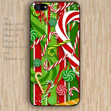 iPhone 6 case colorful Christmas decorative pattern iphone case,ipod case,samsung galaxy case available plastic rubber case waterproof B109