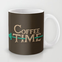 Coffee Time! Mug by Powerpig