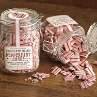 Williams-Sonoma Chocolate-Filled Peppermint Snaps