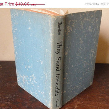 """Vintage Ephemera, Book, """"They Stand Invincible,"""" by Dr. Robert Merrill Bartlett"""