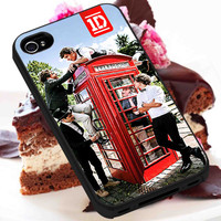 1D and Telephone Box  -  iPhone 6, iPhone 6+, samsung note 4, samsung note 3,iPhone 5C Case, iPhone 5/5S Case, iPhone 4/4S Case, Durable Hard Case