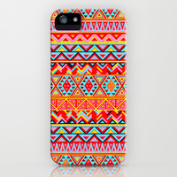 India Style Pattern (Multicolor) iPhone & iPod Case by Maximilian San