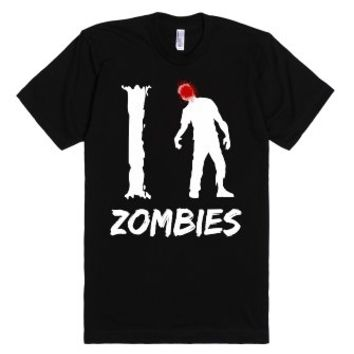I Kill Zombies T Shirt-Unisex Black T-Shirt