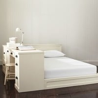 Paramount Bed + Desk Set, Queen, Tuscan