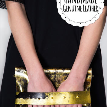 The Midas Touch Clutch
