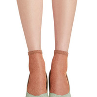 ModCloth A Lining of Luxe Socks in Copper