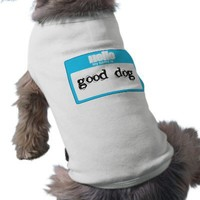 HELLO MY NAME IS... DOGGIE SHIRT