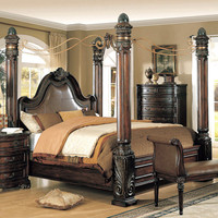 Fabiana Four Poster Bedroom Collection