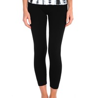 Hard Tail Printed Rollover Legging