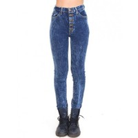 High Wasited Acid Wash Jeans by Youreyeslie.com Online store> Shop the collection