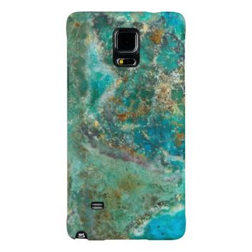 Blue Stone Galaxy Note 4 Case