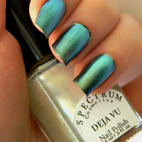 Blue Green Duochrome Nail Polish Top Coat DEJA VU