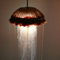 HUGE hanging Jellyfish