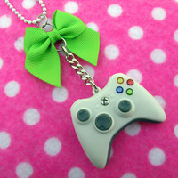 Funky Xbox Controller Gamer Necklace