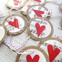Love Notes Garland by elizabethwren on Etsy