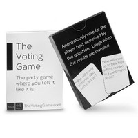 The Voting Game - The Party Game Where You Tell It Like It Is.