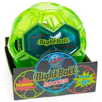 Boy's Toysmith 'Tangle Matrix - NightBall' Light-Up Soccer Ball