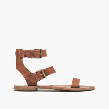 The Sightseer Buckle Gladiator Sandal