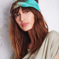 Free People Silky Tie Dye Headband