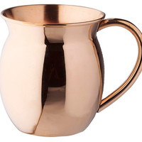 Solid Copper Flared Moscow Mule, Moscow Mule Mugs