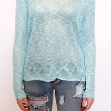 Spring Sweater in Mint | Cecico