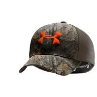 Under Armour Men's UA Camo 2-Tone Stretch Fit Cap