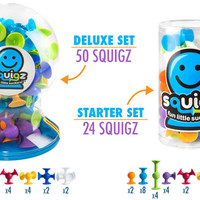 Squigz: Suction Cup Construction Sets