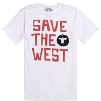 Topo Ranch Save The West T-Shirt - Mens Tee - White