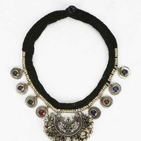 Silk Road Coins + Bells Necklace - Gold One