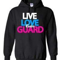Live Love Color Guard Hoodie Sweatshirt