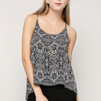 Abstract Cami Top