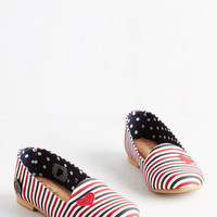 ModCloth Darling Corazon of My Being Flat