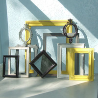 Custom Picture Frame Set - Made to Order Set of 10 Picture Frames for Gallery Walls, Wedding Decor, Dorm Rooms, and More