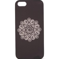 With Love From CA Moon Floral Burst iPhone 5/5S Case - Womens Scarves - Black - One