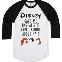 Disney Gave Me Unrealistic Expectations About Hair-T-Shirt
