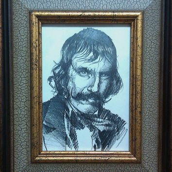 Portrait of Bill the Butcher by epyon5 on Etsy