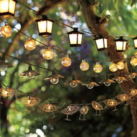 Malta Mini Lantern String Lights | Pottery Barn