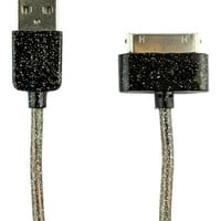 Atomic9 Black Glittery 30-Pin Cable | zulily