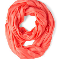 ModCloth Minimal Brighten Up Circle Scarf in Sunset