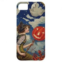 Pumpkin Jack O Lantern Witch Moon iPhone 5 Covers