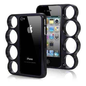 Knuckle Duster iPhone Case (Black)