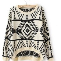 Ninimour- Autumn New Casual Woman Pullovers Sweater (Beige)