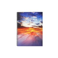 Magma and sky notebook from Zazzle.com
